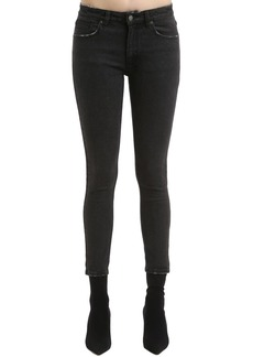 Ksubi Skinny Spray On Black Denim Jeans