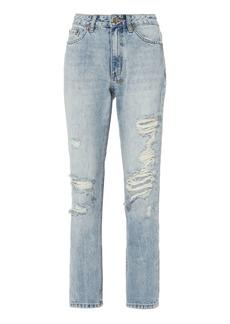 Ksubi Slim Pin Distressed Jeans