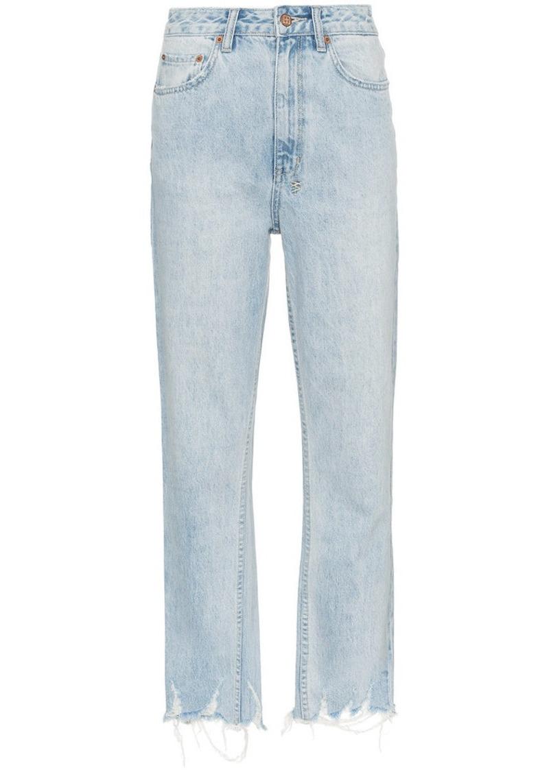 Ksubi straight-leg cropped jeans