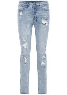 Ksubi Stretch Cotton Denim Skinny Fit Jeans