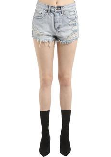 Ksubi Tongue N Cheek Denim Shorts