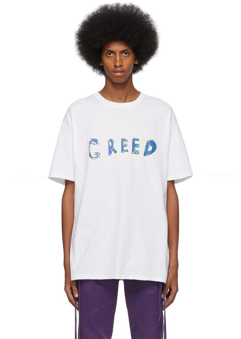 Ksubi White Hidji World Edition 'Greed' Biggie T-Shirt