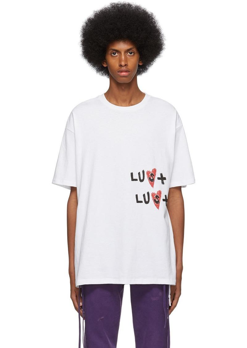 Ksubi White Hidji World Edition 'Lust' Biggie T-Shirt