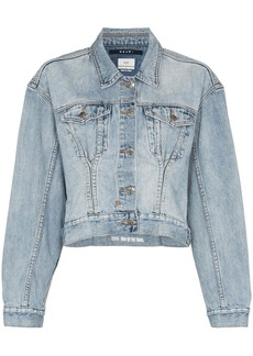 Ksubi x Kendall Jenner Karma cropped denim jacket