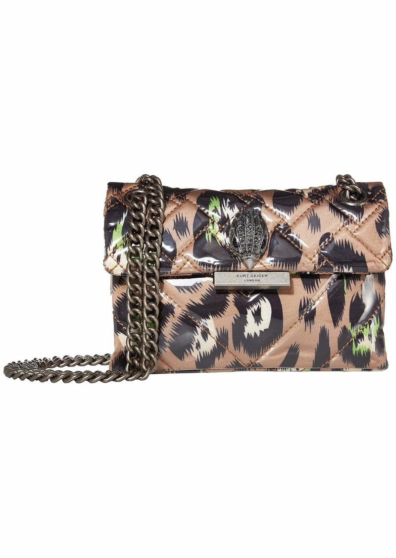 Kurt Geiger Fabric Mini Kensington Crossbody