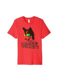 """Kurt Geiger Funny Border Collie Shirt """"Herd That"""" Dog Lover T-Shirt"""