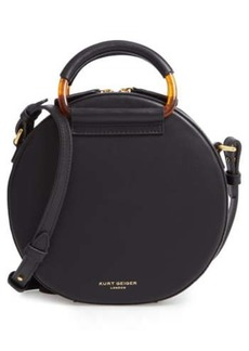 Kurt Geiger Harriet Leather Circle Crossbody Bag