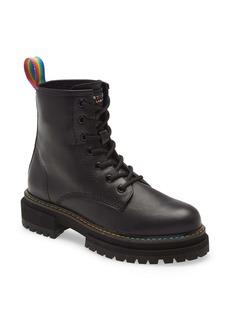 Kurt Geiger London Birdie Rainbow Combat Boot (Women)