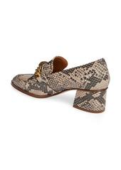 Kurt Geiger London Block Heel Loafer Pump (Women)
