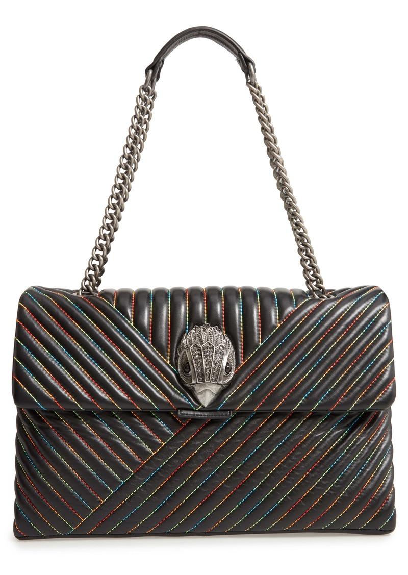Kurt Geiger London Extra Extra Large Kensington Leather Shoulder Bag