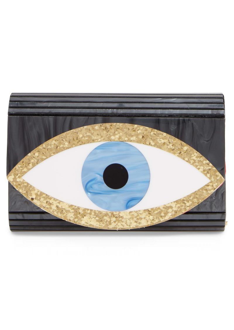 Kurt Geiger London Eye Acrylic Party Clutch