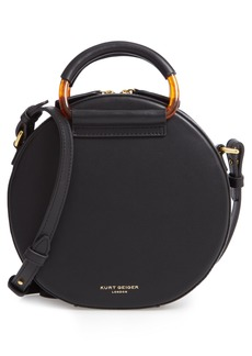 Kurt Geiger London Harriet Leather Circle Crossbody Bag