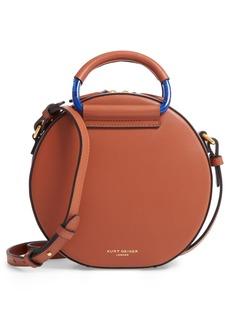Kurt Geiger London Harriet Leather Circle Crossbody Bag