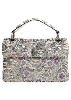 Kurt Geiger London Kensington Embroidered Sequin Shoulder Bag