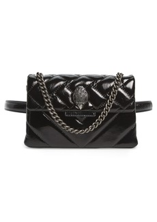 Kurt Geiger London Kensington Leather Convertible Belt Bag