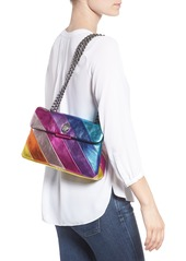 Kurt Geiger London Rainbow Shop Kensington Leather Crossbody Bag