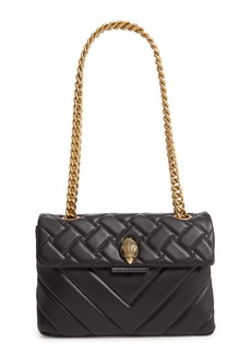 Kurt Geiger London Kensington Quilted Leather Crossbody Bag
