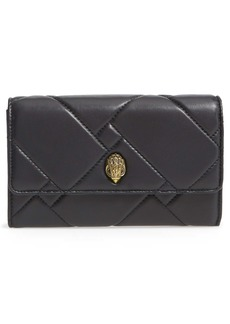 Kurt Geiger London Kensington Quilted Leather Wallet on a Chain