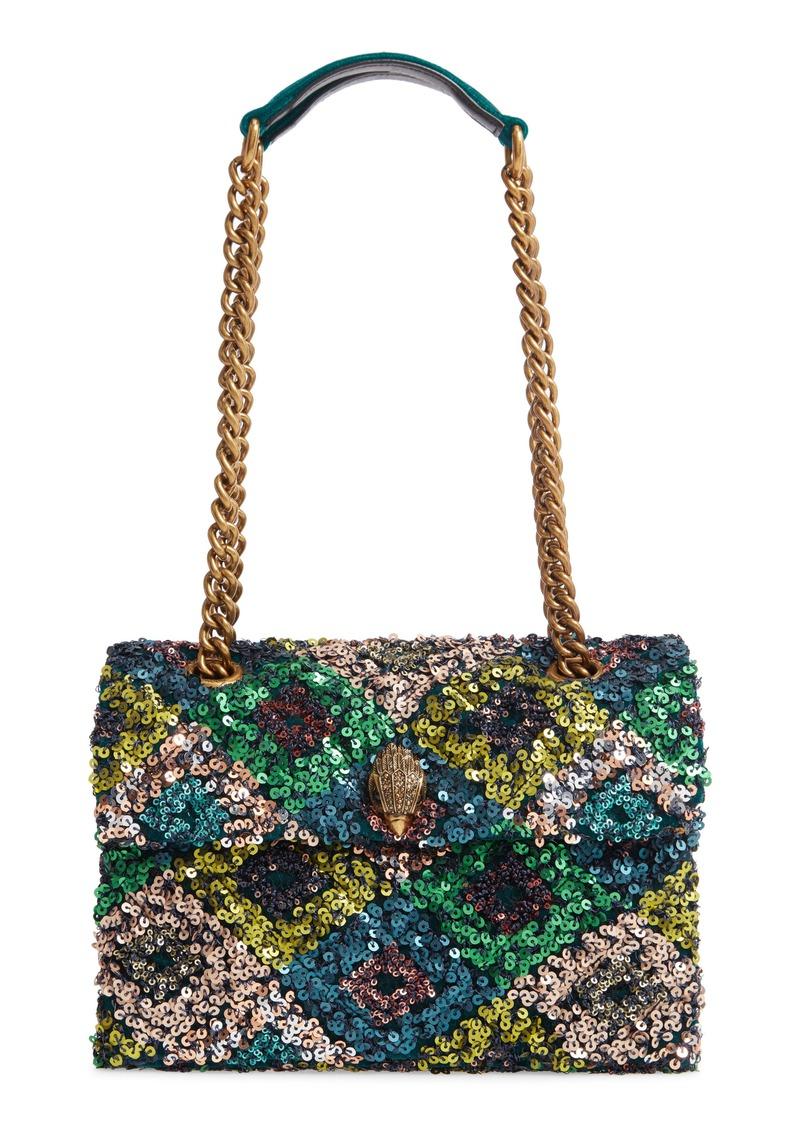 Kurt Geiger London Kensington Sequin Embellished Shoulder Bag
