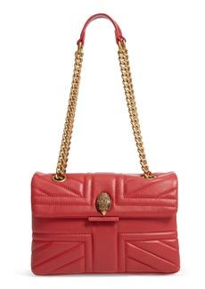 Kurt Geiger London Kensington Union Jack Leather Crossbody Bag