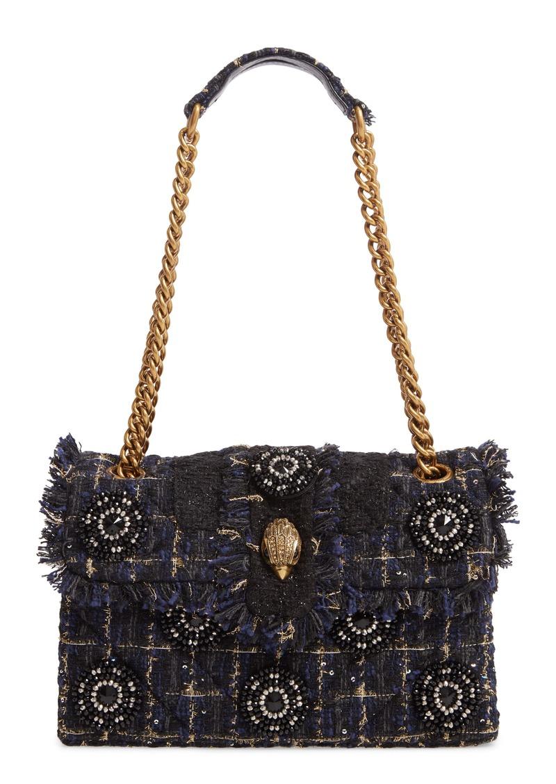 Kurt Geiger London Kensington X Tweed Shoulder Bag