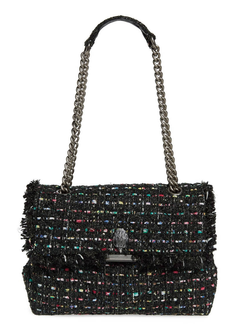 Kurt Geiger London Large Kensington Tweed Shoulder Bag (Nordstrom Exclusive Color)