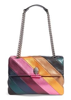 Kurt Geiger London Large Soho Rainbow Leather Shoulder Bag