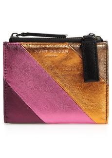 Kurt Geiger London Leather Mini Wallet