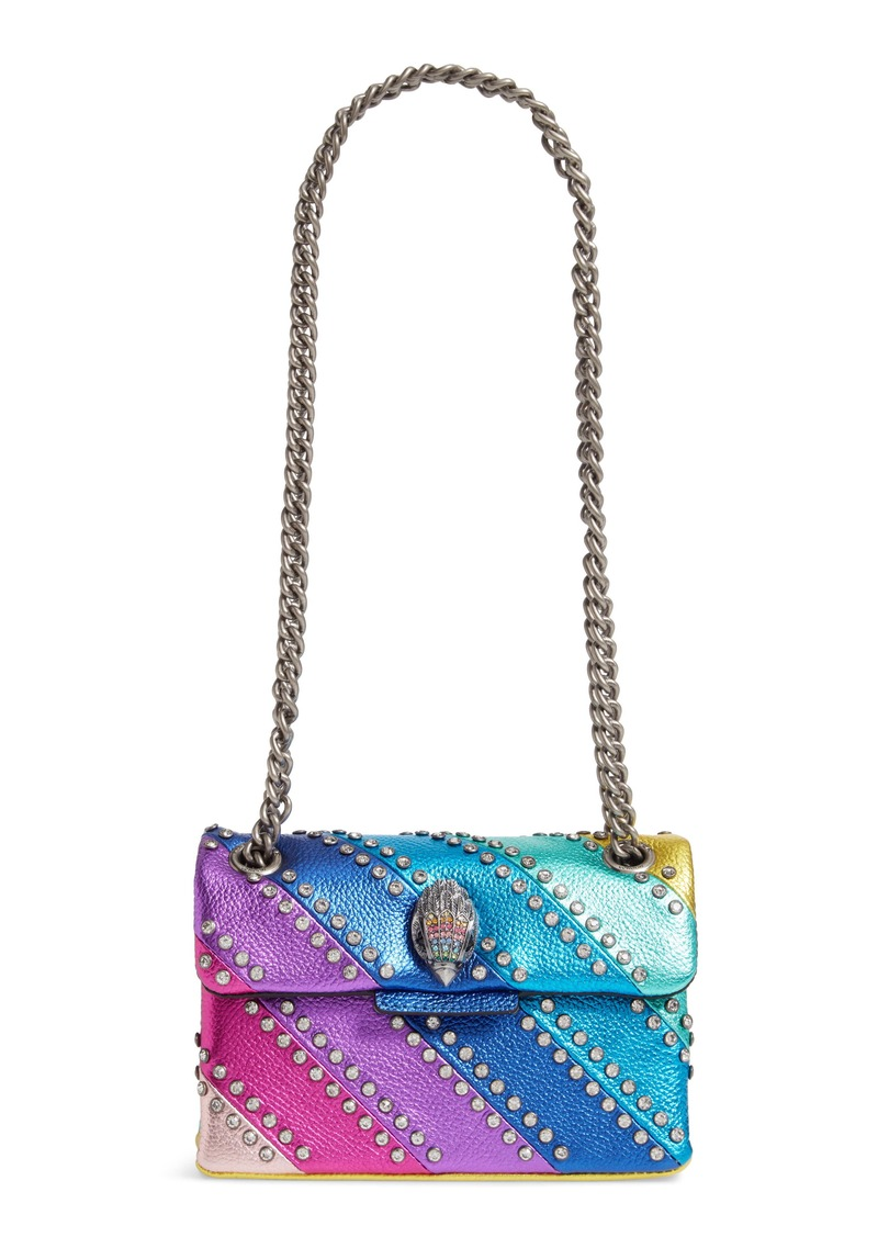 Kurt Geiger London Mini Kensington Crystal Crossbody Bag
