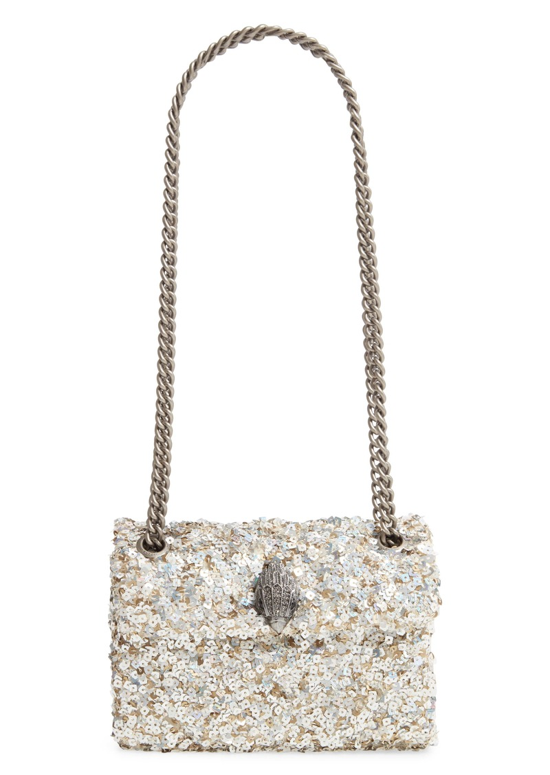 Kurt Geiger London Mini Kensington Sequin Crossbody Bag