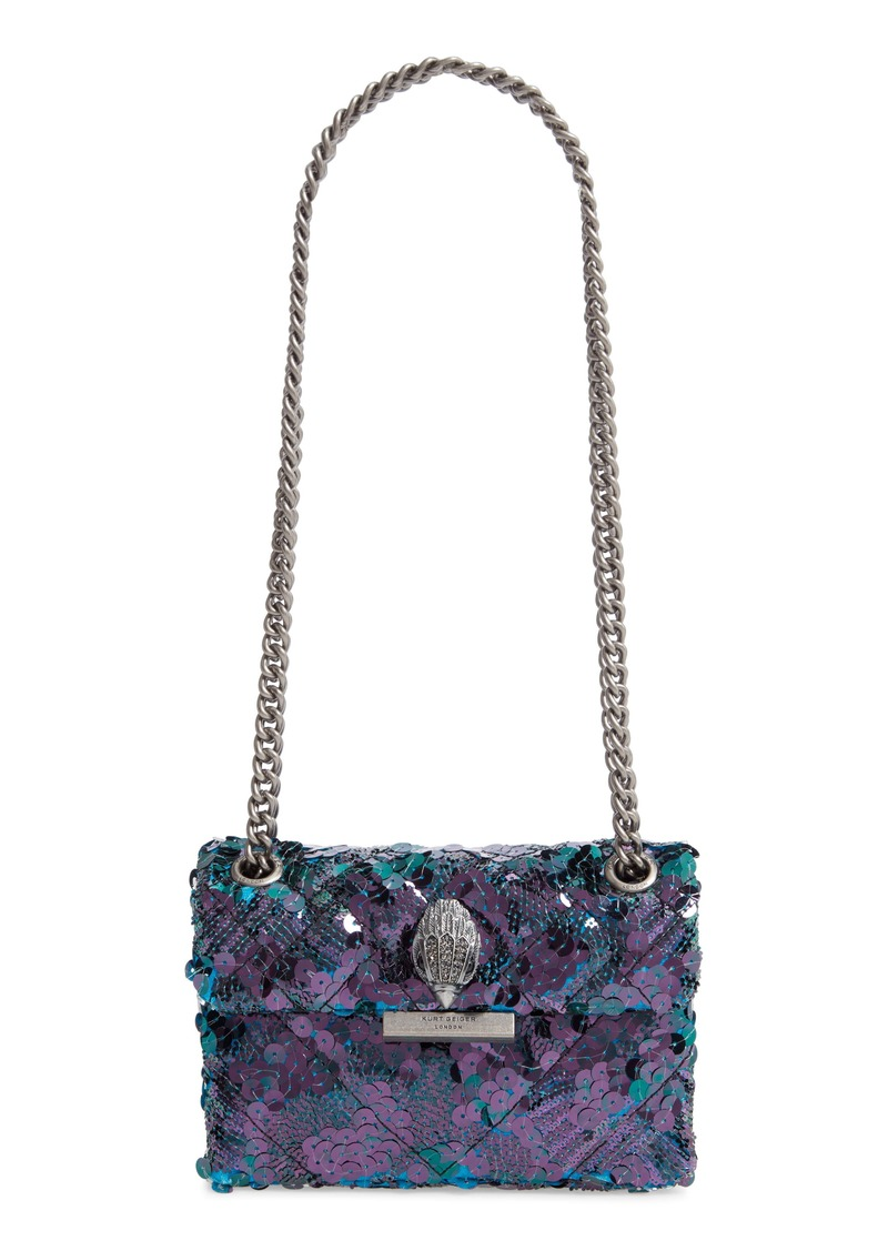 Kurt Geiger London Mini Kensington Sequin Crossbody Bag
