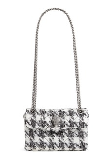 Kurt Geiger London Mini Kensington Tweed Crossbody Bag