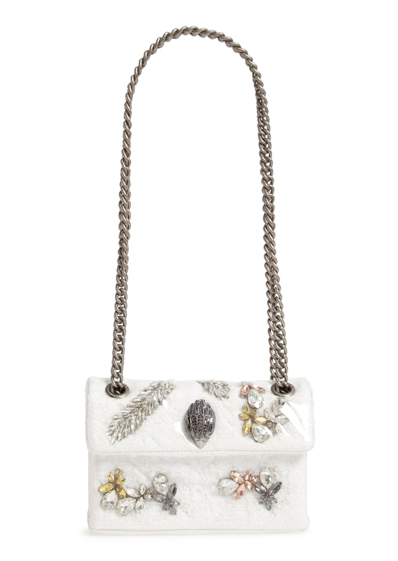 Kurt Geiger London Mini Kensington X Embellished Crossbody Bag