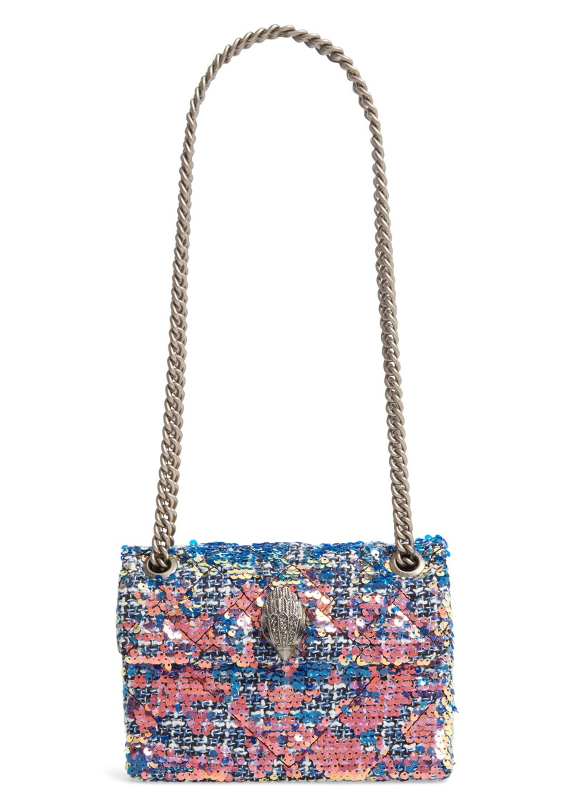 Kurt Geiger London Mini Kensington X Tweed Shoulder Bag