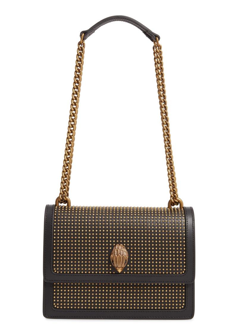 Kurt Geiger London Shoreditch Studded Leather Crossbody Bag