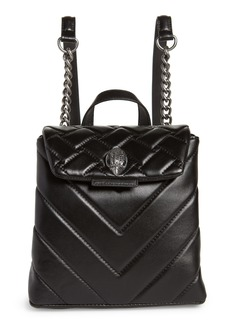 Kurt Geiger London Small Kensington Leather Backpack