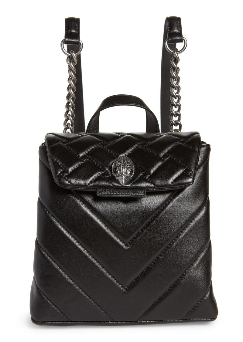 Kurt Geiger London Small Kensington Leather Backpack