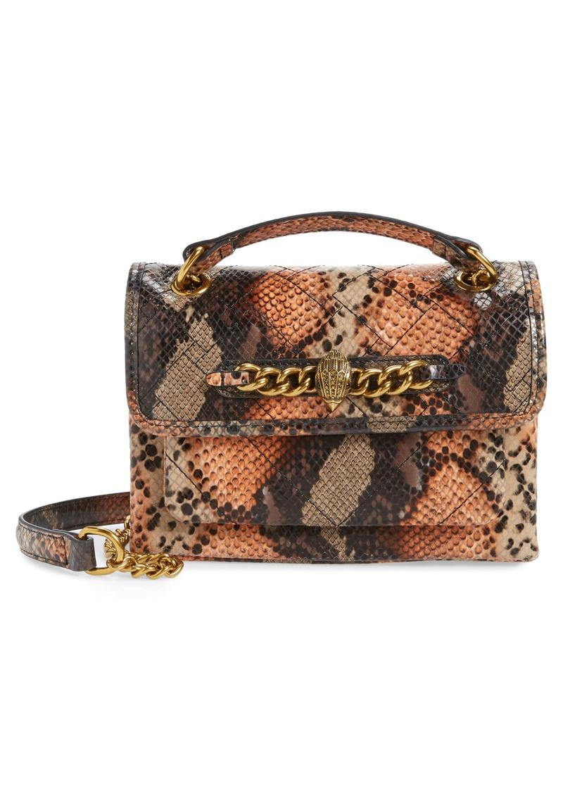 Kurt Geiger London Small Kensington Leather Crossbody Bag