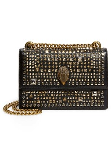 Kurt Geiger London Small Shoreditch Studded Leather Crossbody Bag