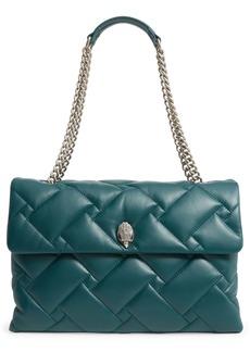Kurt Geiger London XXL Kensington Soft Quilted Leather Shoulder Bag