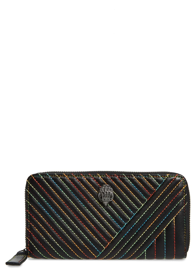 Kurt Geiger London Zip Around Leather Wallet