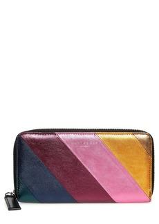 Kurt Geiger London Zip Around Leather Wallet