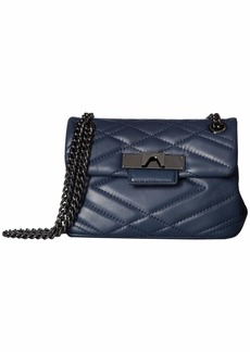 Kurt Geiger Leather Mini Mayfair Crossbody