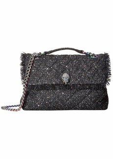Kurt Geiger Tweed Large Kensington Bag