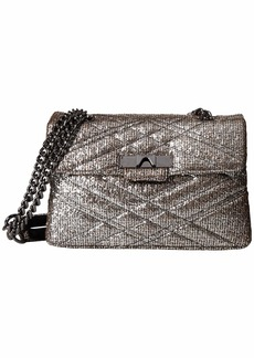Kurt Geiger Tweed Mayfair Crossbody