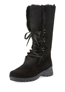 La Canadienne Annabella Shearling Fur-Lined Boot