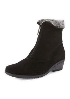 La Canadienne Evitta Faux-Fur Demi-Wedge Boot