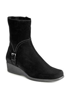 La Canadienne Laverna Waterproof Suede Wedge Boots