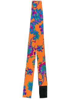 La Doublej floral skinny scarf