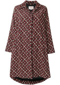 La Doublej Velvet Loden Domino coat